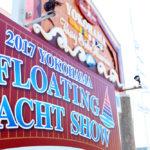 2017ヨコハマフローティングヨットショー 会場風景