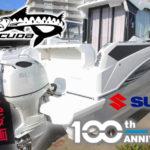 スズキ100周年記念350馬力船外機搭載バラクーダ9